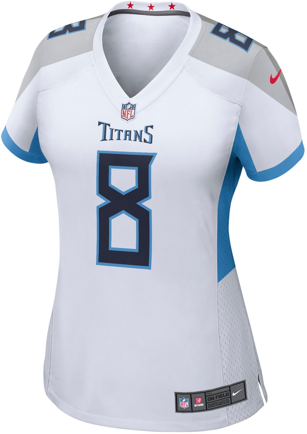 buy online 0b930 69f66 Nike Women's Tennessee Titans Marcus Mariota 8 Game Team Jersey