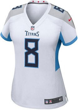 Nike Women's Tennessee Titans Marcus Mariota 8 Game Team Jersey