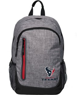 Forever Collectibles Houston Texans Bold Color Backpack