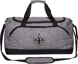 Forever Collectibles New Orleans Saints Bold Color Duffel Bag