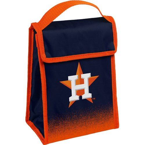 Forever Collectibles Houston Astros Gradient Hook-and-Loop Lunch Bag