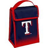 Forever Collectibles Texas Rangers Gradient Hook-and-Loop Lunch Bag