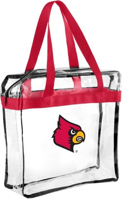 Forever Collectibles University of Louisville Clear Messenger Bag