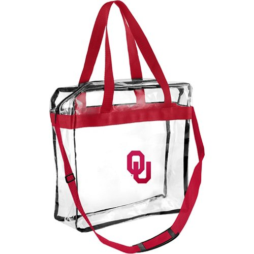 Forever Collectibles University of Oklahoma Clear Messenger Bag