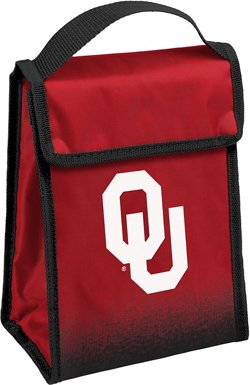 Forever Collectibles University of Oklahoma Gradient Hook-and-Loop Lunch Bag