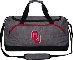 Forever Collectibles University of Oklahoma Bold Color Duffel Bag