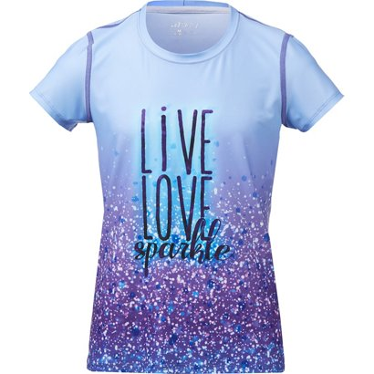 Is Sublimation T Girls' ShirtAcademy Color Bcg My Signature Glitter 3lcTF1JK