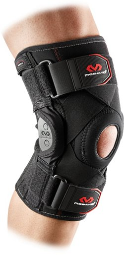 McDavid Adults' Knee Brace with Polycentric Hinges and Cross Straps
