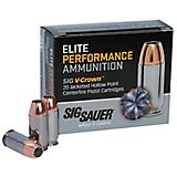 SIG SAUER Elite Performance V-Crown Jacketed Hollow Point .38 Special 125-Grain Centerfire Pistol Am