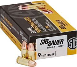 Elite Performance Ball 9mm Luger 124-Grain Centerfire Handgun Ammunition