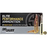 SIG SAUER Elite Performance Match Grade 6.5 Creedmoor 140-Grain Centerfire Rifle Ammunition