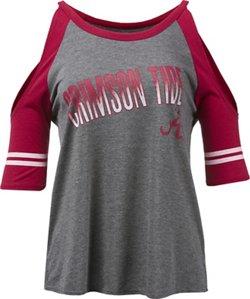 Colosseum Athletics Women's University of Alabama Maguire Cold Shoulder T-shirt