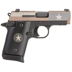 Sig Sauer P938 Texas Flag NS 9mm Sub-Compact 7-Round Pistol