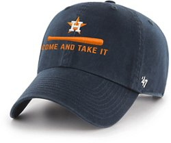 Brand Men's Houston Astros Come and Take It Clean Up Cap