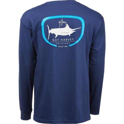 Guy Harvey Men's Impi Long Sleeve T-shirt