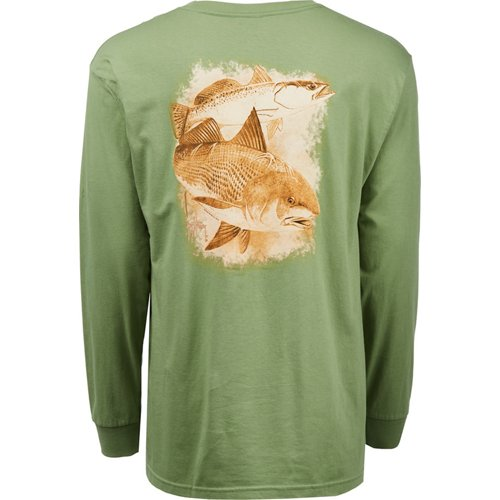 Guy Harvey Men's Leadfish Long Sleeve T-shirt