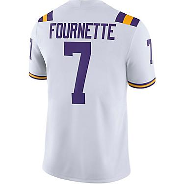 the latest c90ff 43cd3 Nike Men's Louisiana State University Leonard Fournette 7 Former Player  Jersey