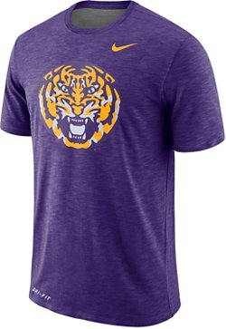 Nike Men's Louisiana State University Slub Sideline T-shirt