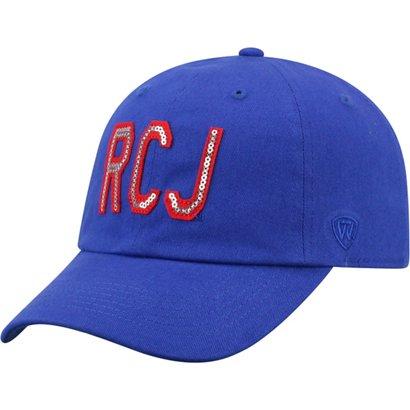 980ddb31cf6 Top of the World Women s University of Kansas Glow District Ball Cap ...