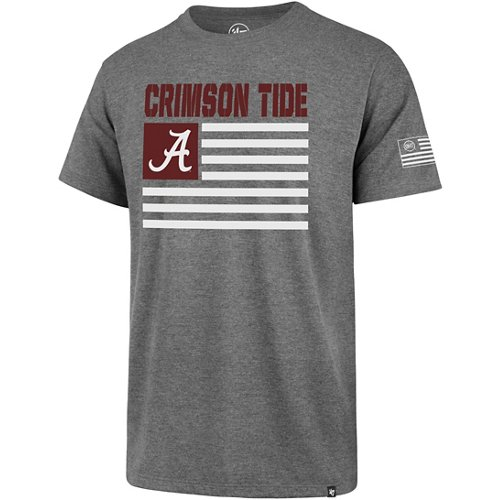 '47 University of Alabama OHT Team Flag Two Peat Super Rival T-shirt