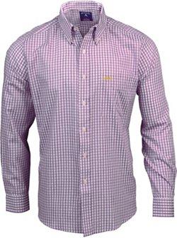 Antigua Men's Louisiana State University Rank Button Down Shirt