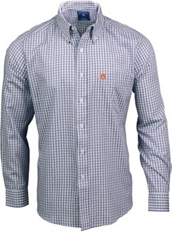 Antigua Men's Auburn University Rank Button Down Shirt