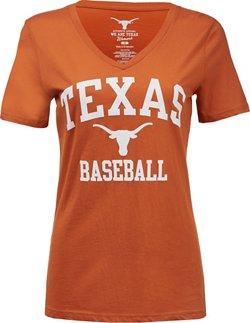 Women's University of Texas Baseball T-shirt