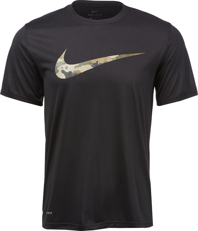 cc6e564f80570b Nike Men's Camo Swoosh Dry Legend T-shirt | Academy