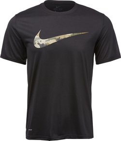 Nike Men's Camo Swoosh Dry Legend T-shirt