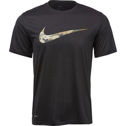 2206922ea Nike Men's Camo Swoosh Dry Legend T-shirt | Academy