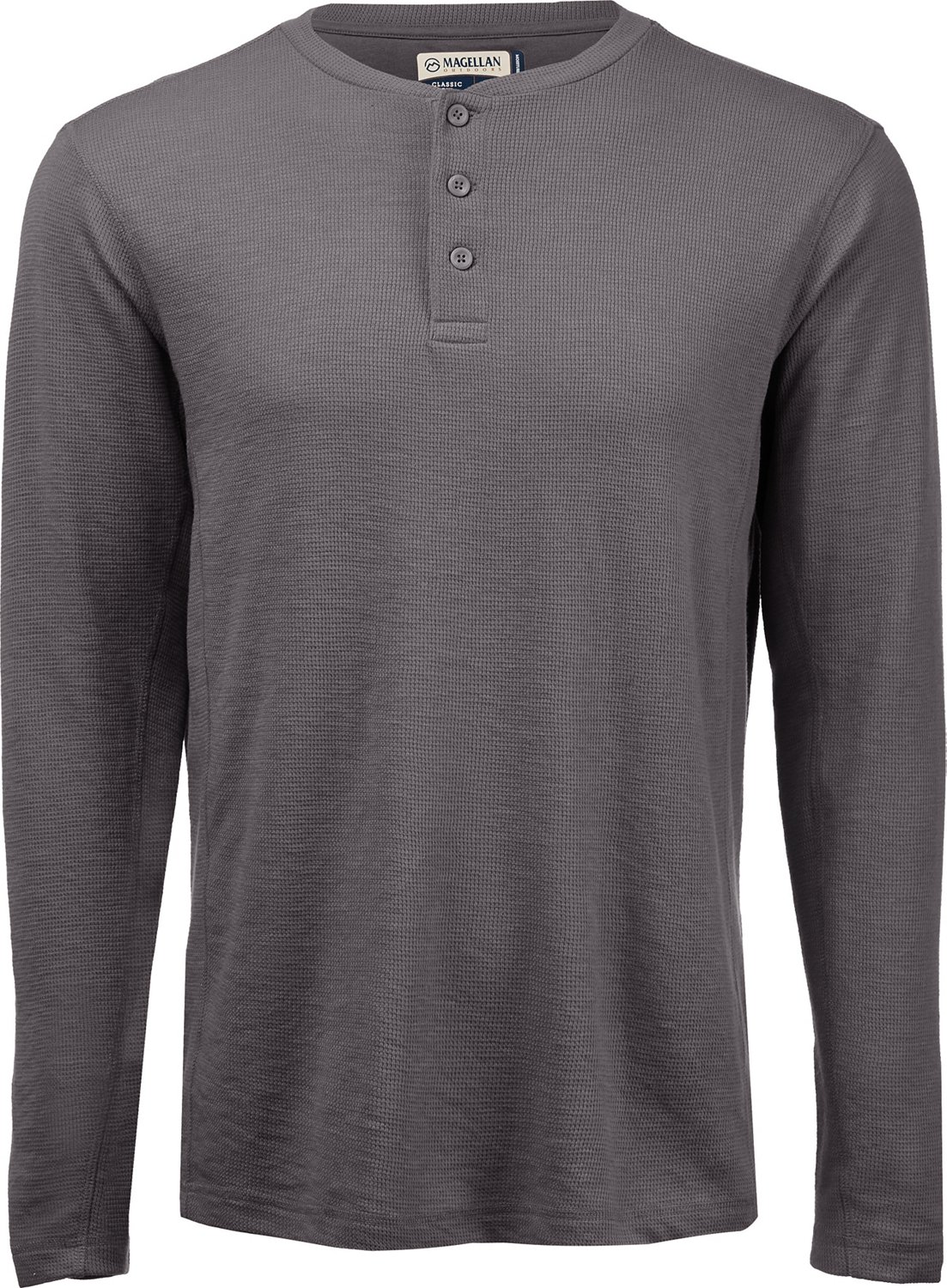 fbafa1ebe Display product reviews for Magellan Outdoors Men s Base Camp Thermal Long  Sleeve Henley Shirt