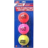 A&R Multi-Weather Hockey Balls 3 Pack