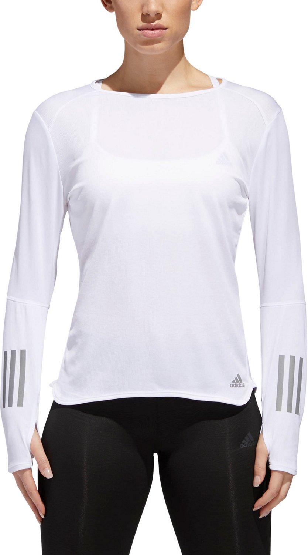 adidas Women's Response Long Sleeve Running T-shirt - view number 2