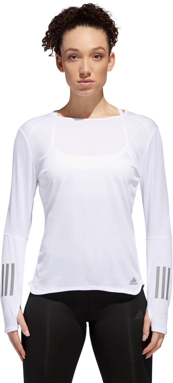 adidas Women's Response Long Sleeve Running T-shirt - view number 1