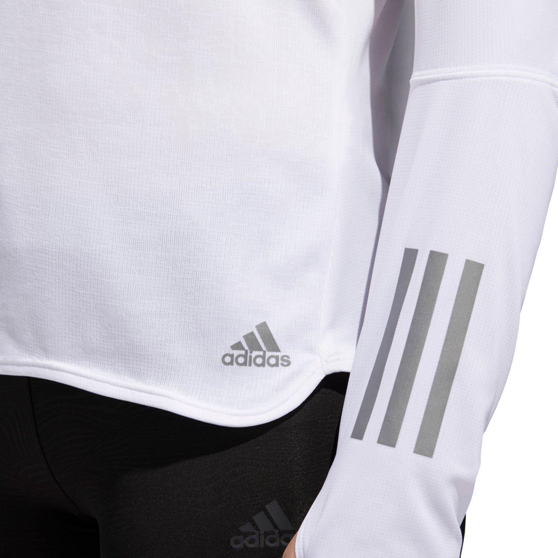 adidas Women's Response Long Sleeve Running T-shirt - view number 5
