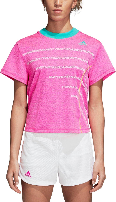 adidas Women's Seasonal Tennis T-shirt - view number 2