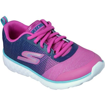 b75cbb2c21a4 SKECHERS Girls  GOrun 400 PS Shimmer Zooms Running Shoes