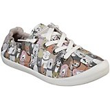 SKECHERS Women's Bobs Beach Bingo Dog House Party Slip-On Shoes