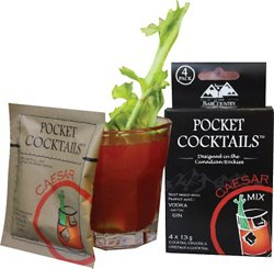 BarCountry Bloody Mary Pocket Cocktail 4-Pack