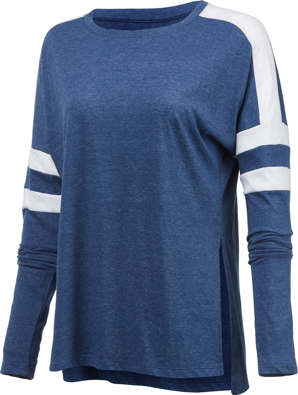 BCG Women's Athletic Varsity Long Sleeve T-shirt