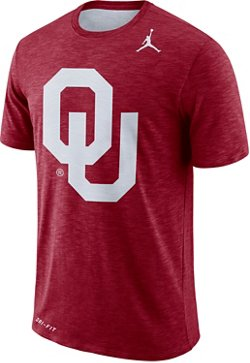 Nike Men's University of Oklahoma Dry Sideline Jump T-shirt