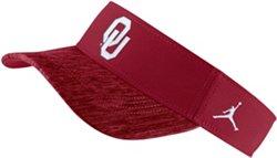 Nike Men's University of Oklahoma Jordan Sideline Jump Visor