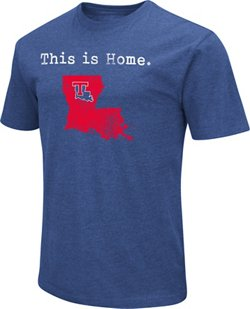 Colosseum Athletics Men's Louisiana Tech University Dual Blend T-shirt