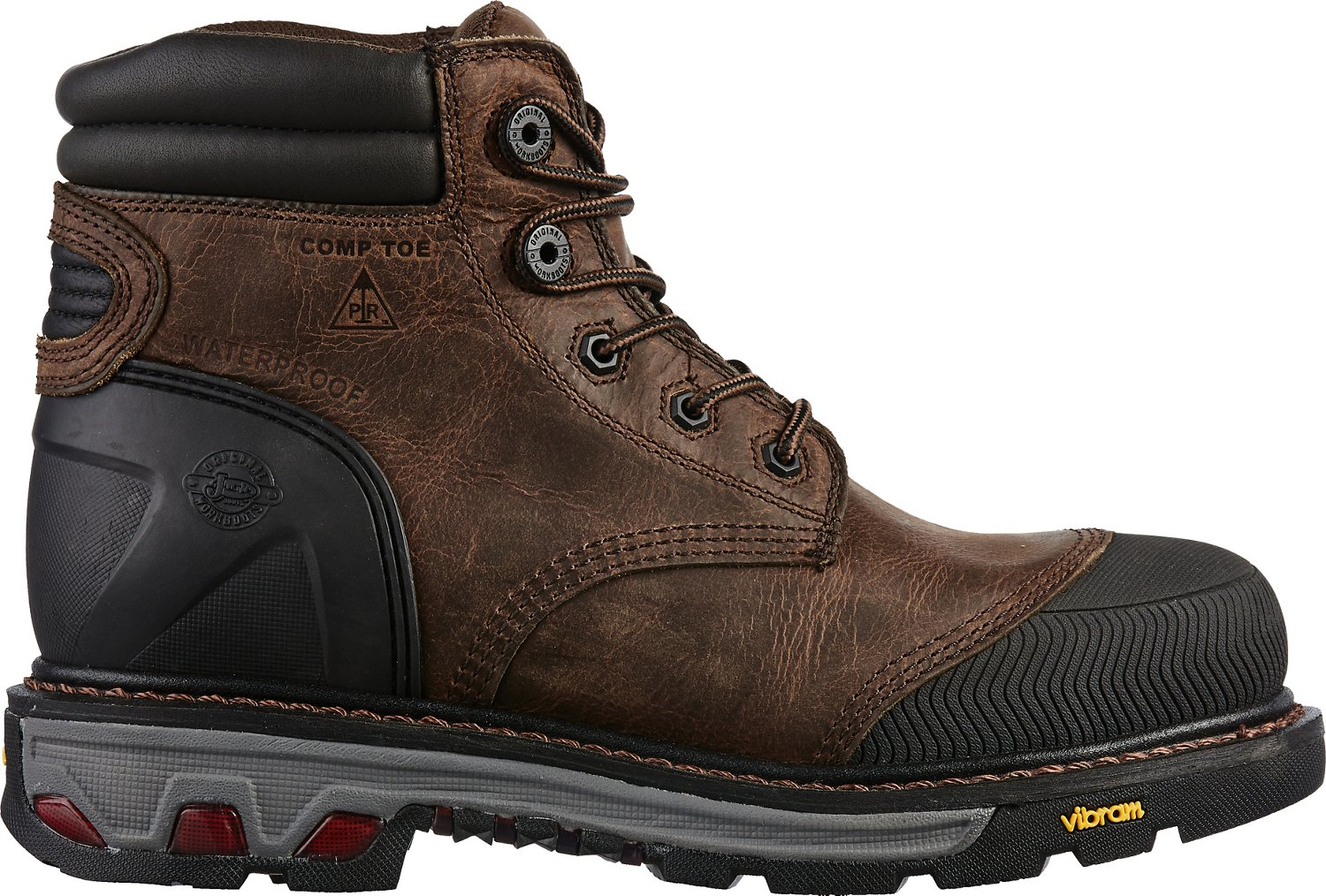 f05647022b9 Justin Men's Commander-X5 Warhawk EH Composite Toe Lace Up Work Boots
