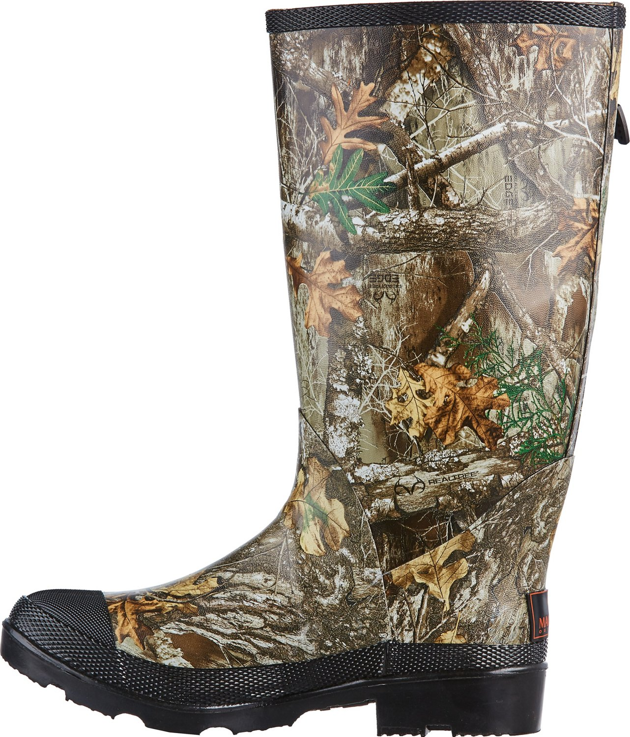 Magellan Outdoors Men's Realtree Edge Rubber Boots - view number 2