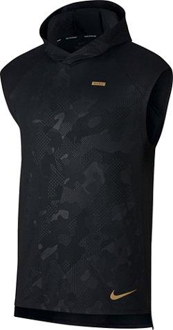 Nike Men's Element Sleeveless Graphic Running Hoodie
