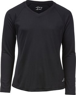 BCG Girls' Turbo Heather V-Neck Shirt