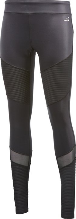 BCG Women's Mesh Pieced Moto Leggings