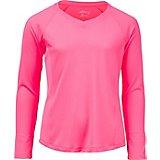 24bb5a9b BCG Girls' Turbo Heather V-Neck Shirt