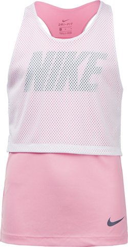 Nike Girls' Dry Studio Graphic Tank Top